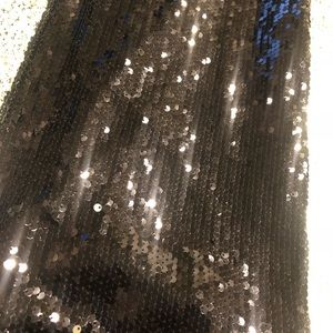 Forever 21 Pants - Women Forever 21 Sequin Sparkle Pants XS Black